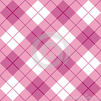 Bias Plaid in Pink