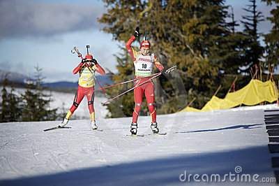 Biathlon Fotografia Editorial