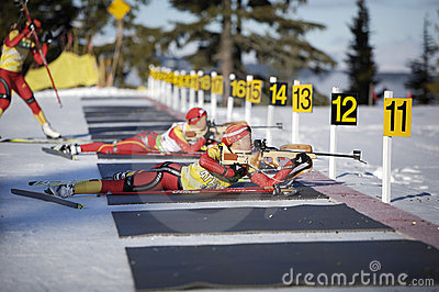 Biathlon Editorial Image