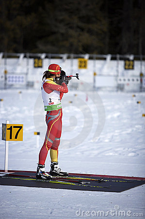 Biathlon Editorial Stock Photo