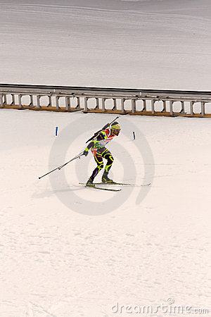 Biathlon World Championships 2012 Editorial Photography
