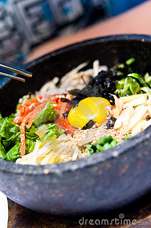Free Bibimbap Food Stock Image - 15393911