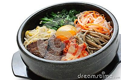 Bibimbap, Korean Cuisine Royalty Free Stock Images - Image ...