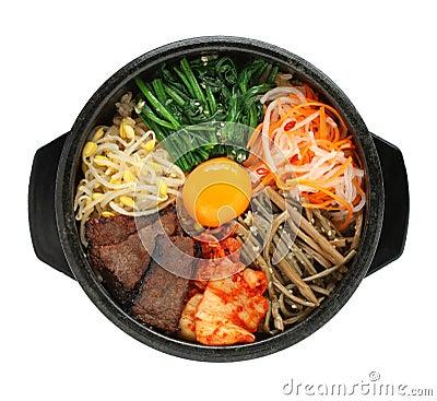 Bibimbap, korean cuisine
