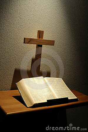 Free Bible And Cross Stock Photos - 17982583