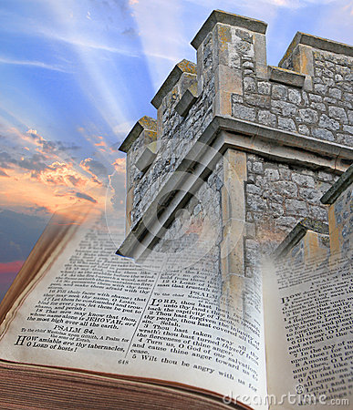 Free Bible Is A Tower And Stronghold Royalty Free Stock Image - 39819786