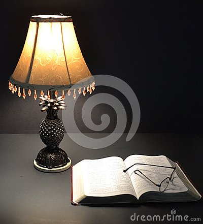 lamp and bible - photo #22