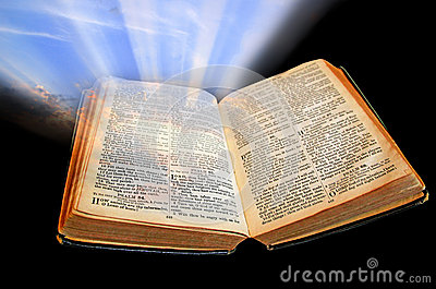 Bible light shines out of darkness