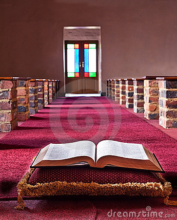 Free Bible Lying On A Pillow Royalty Free Stock Image - 22673746