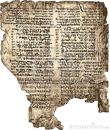 Bible manuscript.