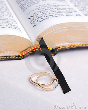 Bible and Rings 1