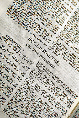 Bible Series Ecclesiastes