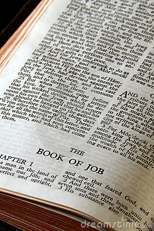 Bible series job