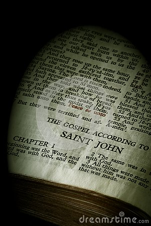 Bible Series John sepia