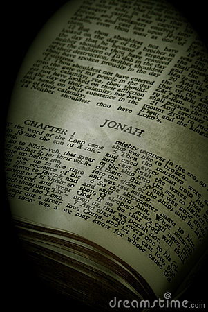 Bible Series Jonah sepia