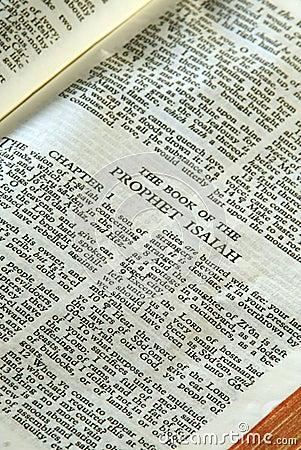 Bible Series Prophet Isaiah