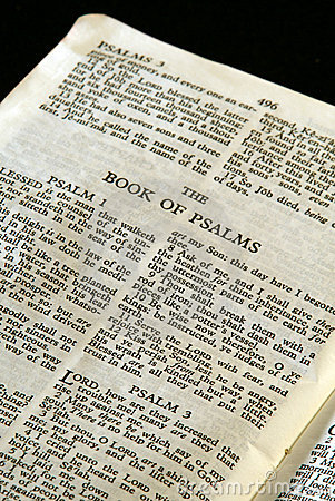 Bible series psalms