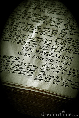 Bible Series Revelation sepia