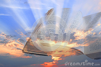 Bible spiritual light rays