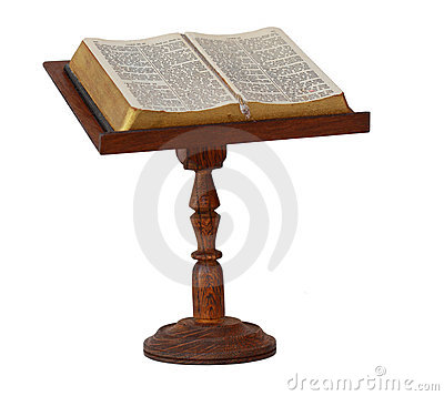Bible on Stand