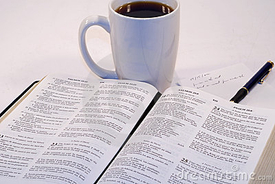 Bible Study Stock Photo Image 7032230