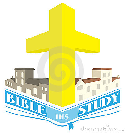 Bible Study Community Groups Logo Illustration