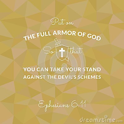 Free Bible Verse From Ephesians On Polygon Background Royalty Free Stock Images - 100123239