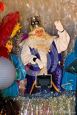 Biblical Magi King Editorial Image