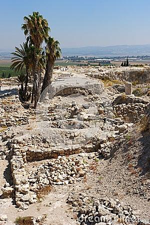 Free Biblical Place Of Israel: Megiddo Royalty Free Stock Photos - 14966418