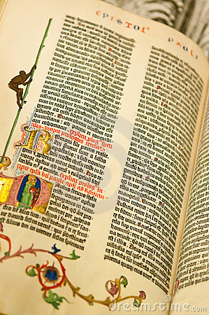 Biblii gutenburg