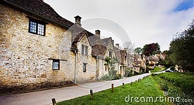 Bibury Cotswold village, England