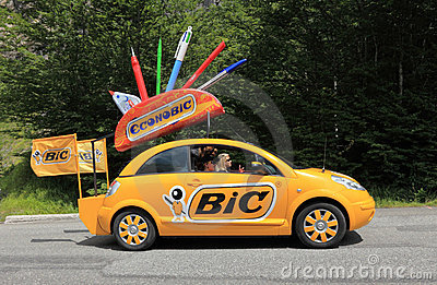 BIC car Editorial Stock Image