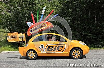 BIC car Editorial Stock Image