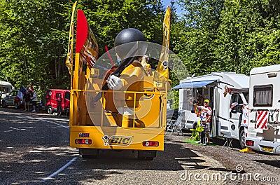 Bic-lastbil Redaktionell Fotografering för Bildbyråer