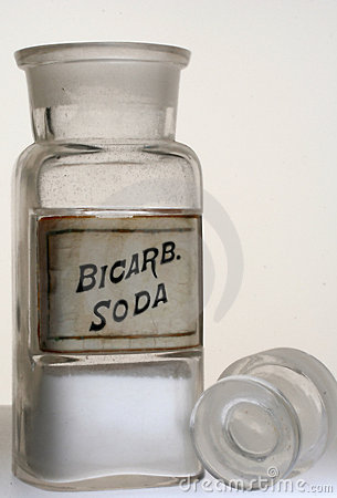 Free Bicarb.Soda Pharmacy Bottle Royalty Free Stock Photos - 353738