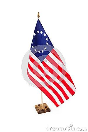 Bicentennial American Flag