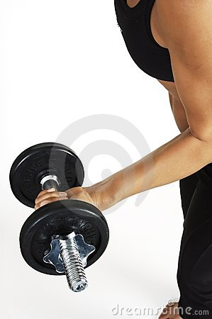 Free Bicep Curl Royalty Free Stock Photo - 74295