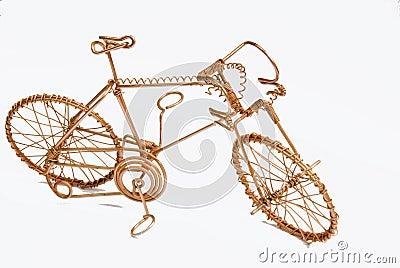 Arte en alambre Bicicleta-del-arte-del-alambre-thumb14772837