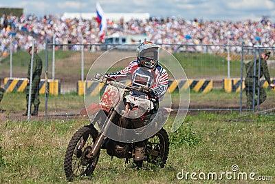 Bicicleta do esporte Foto Editorial