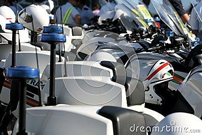 Bicicletas da polícia