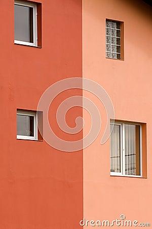 Bicolor wall