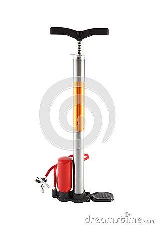 Free Bicycle Air Pump Royalty Free Stock Image - 22590226