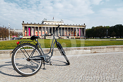 Bicycle in Altes Museum - Berlin