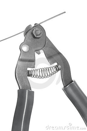 Bicycle cable wire cutting tool