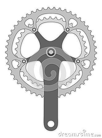 Bicycle cranck arm