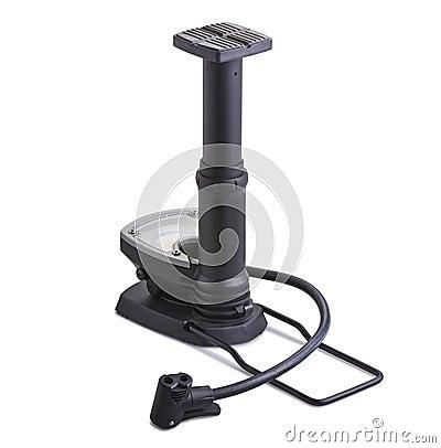 Bicycle floor pump