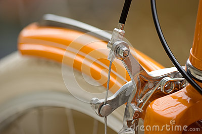 Bicycle front part