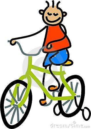 Free Bicycle Kid Royalty Free Stock Image - 741146