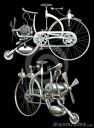 Bicycle with motor