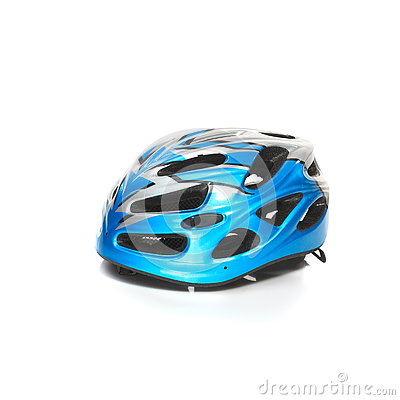 Free Bicycle Mountain Bike Safety Helmet Isolated Stock Images - 74908784